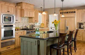 Maple Kitchen Cabinets We Organize-U Prescott AZ