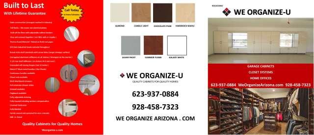 Garage Cabinet Brochure