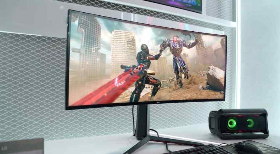 LG Ultragear ces 2020 montiro