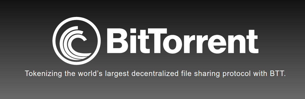 Bittorrent, the world's largest decentralised file sharing protocol with a crypto token called BTT