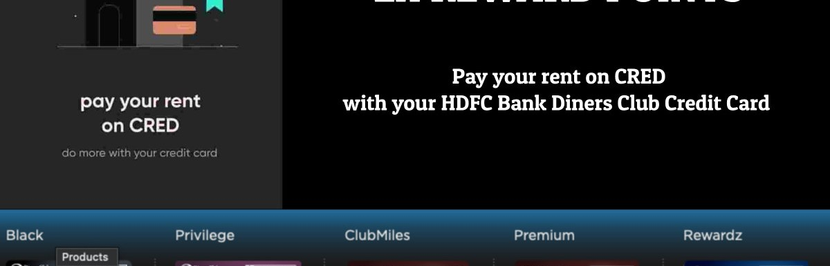 Cred Rentpay HDFC Diners 2X Points