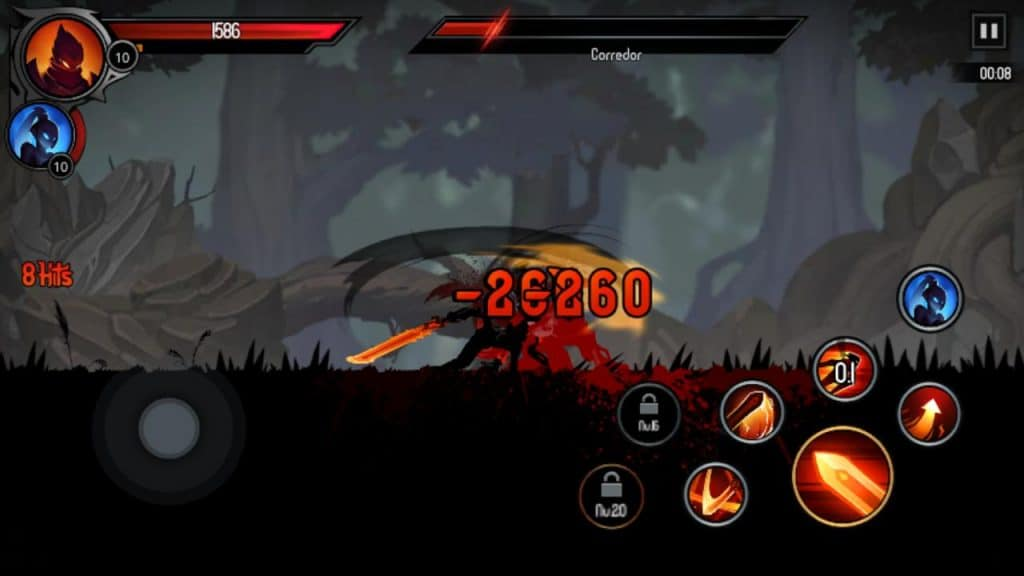 ShadowKnight combat