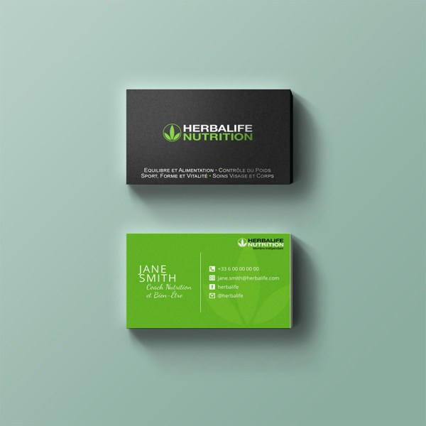 Carte de visite Herbalife Nutrition