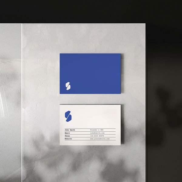 Carte de visite Simplicity by WePrint (3)