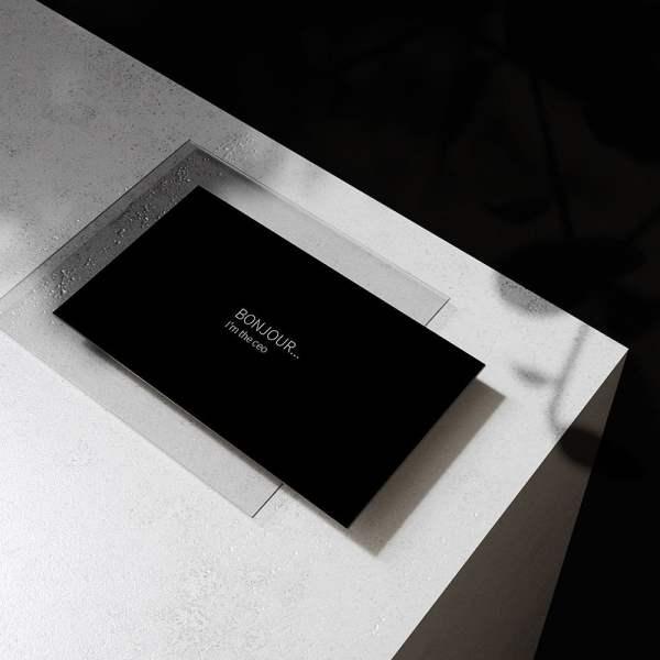 Carte de visite The Frame by WePrint (2)