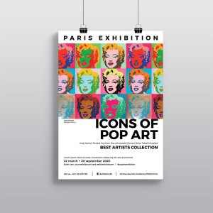 Affiche Gallerie Exposition WePrint
