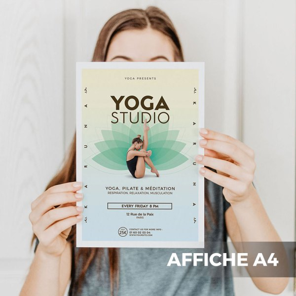 Affiches et Posters A4 WePrint