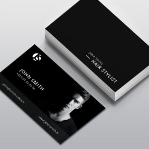 Carte de visite Coiffeur by WePrint