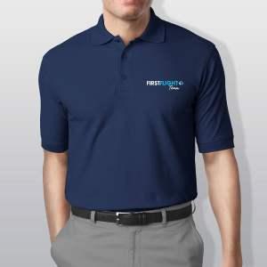 Polos personnalisés brodés homme