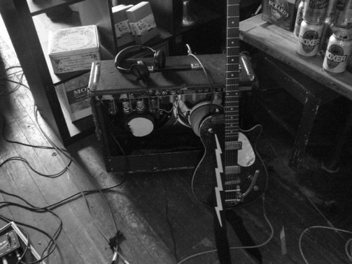 RK's rig - Recording 'Call Me When You're Single' - January 6-13, 2011