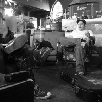 Relaxing - Recording 'Call Me When You're Single' - January 6-13, 2011