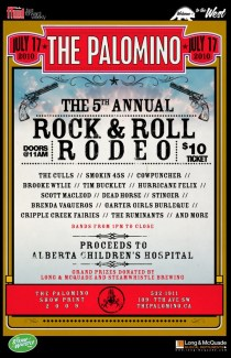 Palomino's Fifth Annual Rock & Roll Rodeo - Jul 17, 2010