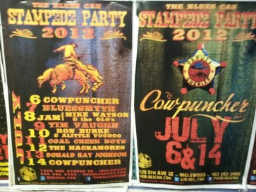 Blue's Can - Stampede 2012