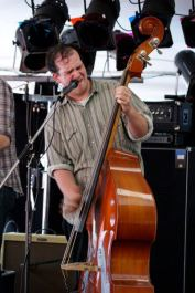 Desperados Stampede - Jul 12, 2012 - Harley Hoeft on upright bass and backup vox