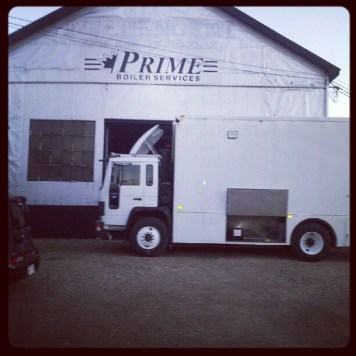 Robbie Josh Gwilliam's mobile recording truck - Pilot Audio. Recording Ghost Notes - September 13-16, 2012