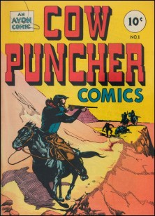 Cow Puncher #1, January 1947.