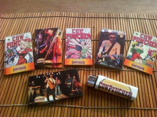 Cowpuncher Magnets and Lighter