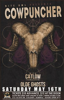 Nite Owl - May 16, 2015 w/ Catlow & Olde Ghosts