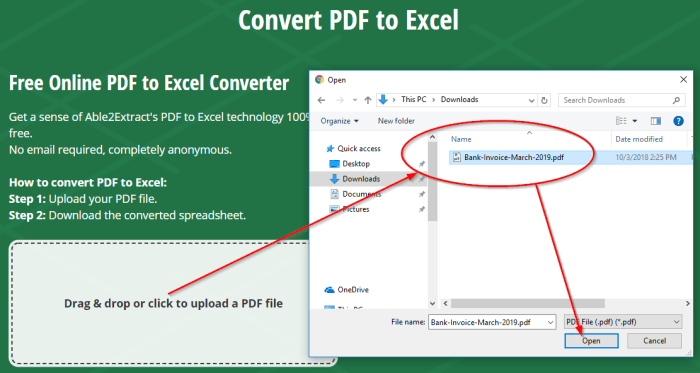 Extracting Invoice Data from PDF to Excel | ADDICTED