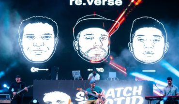re.verse and Skratch Bastid on stage