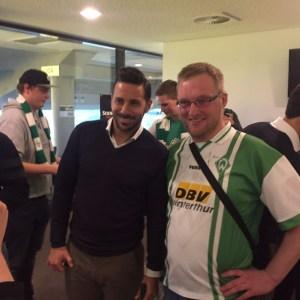 Claudio Pizarro Fanclubweihnachtsfeier