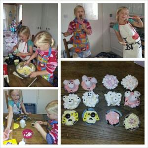 farm animal baking