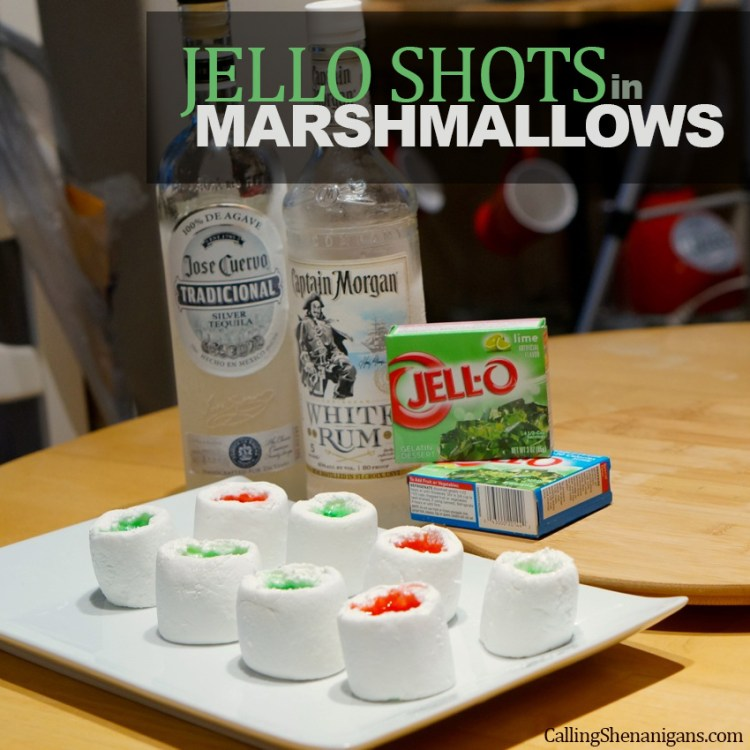 Marshmallow-jello-shots