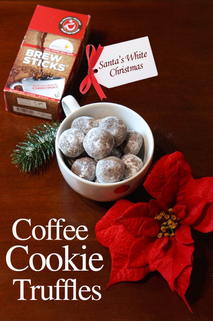 Coffee Cookie Truffles