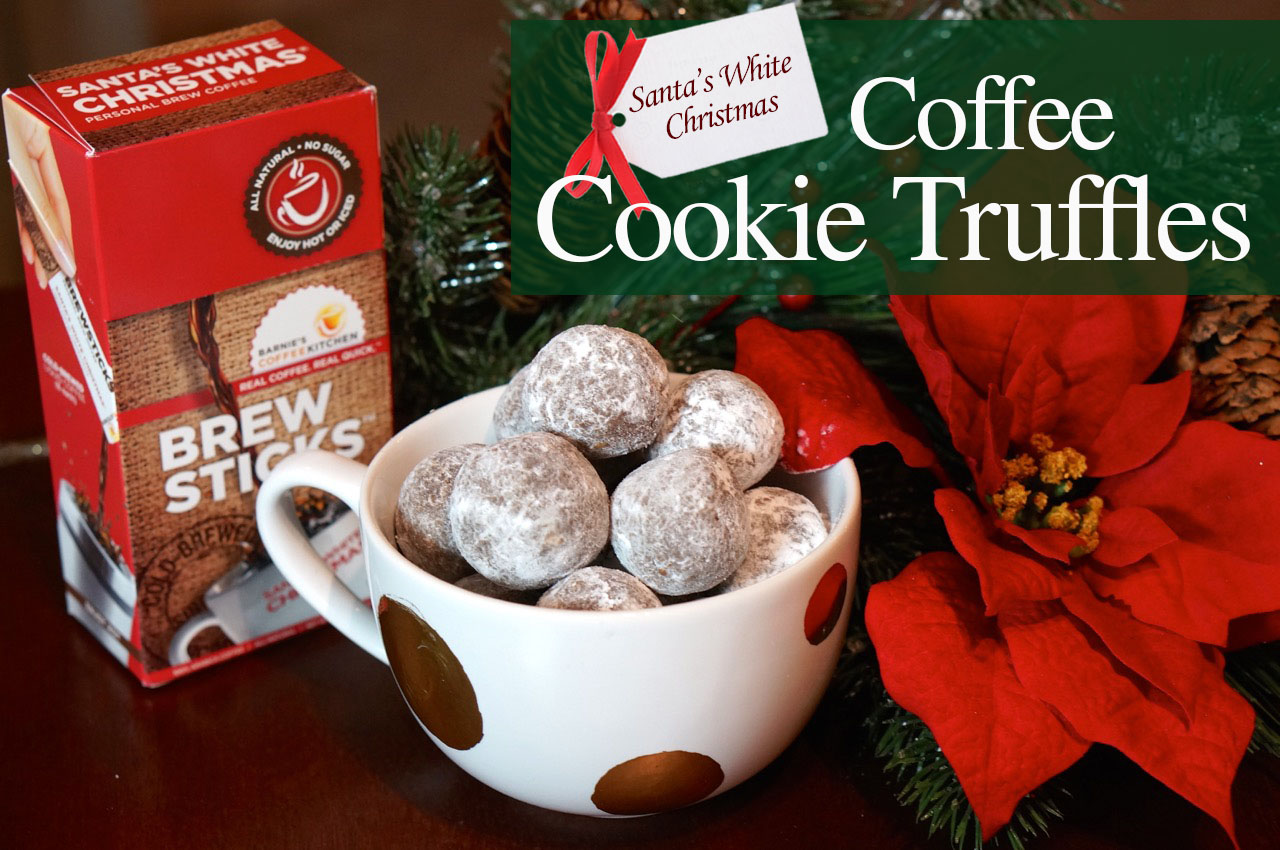 Coffee Cookie Truffles - We\'re Calling Shenanigans