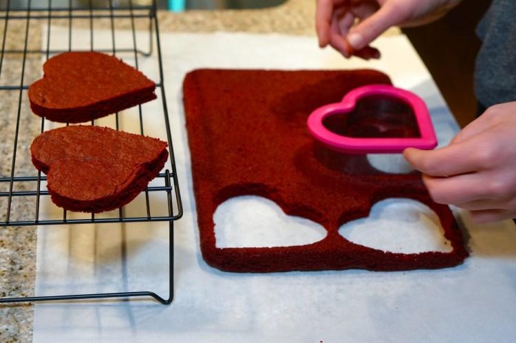 heart-brownies