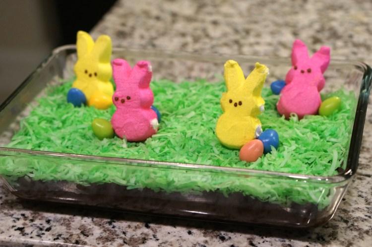 no-bake-peep-cake