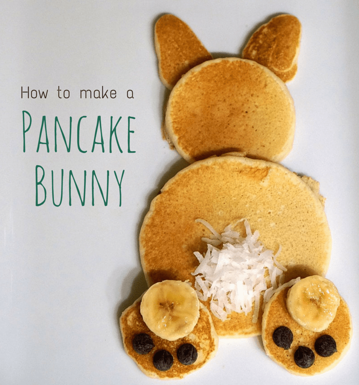 How To Make A Pancake Bunny