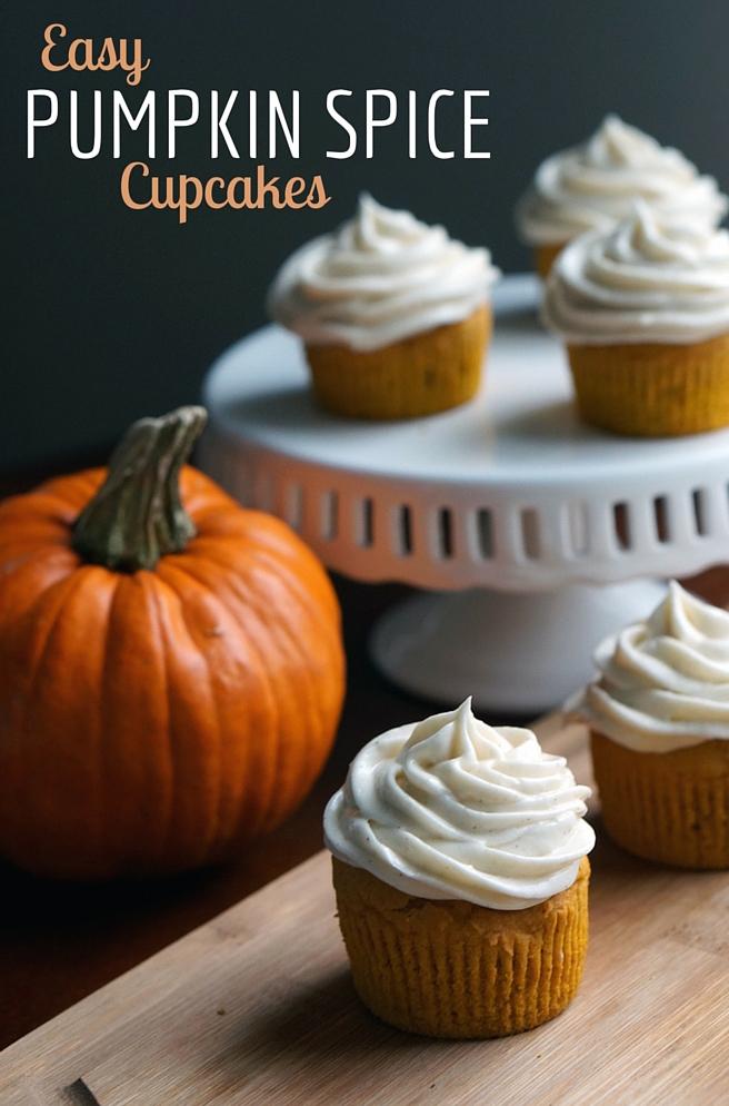 Pumpkin-spice-cupcakes