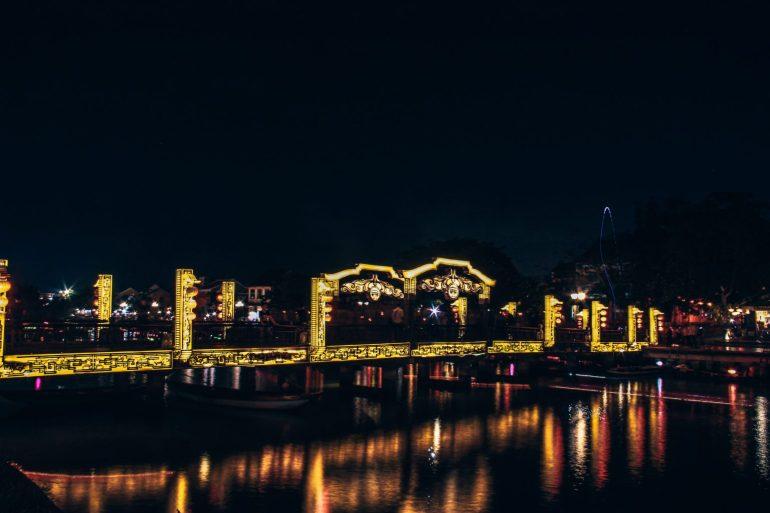 De night market in Hoi An is een beleving op zich