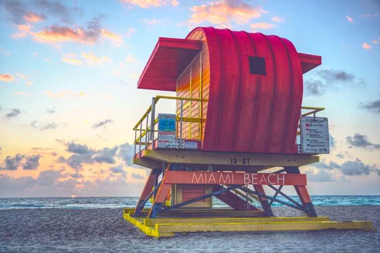 De perfecte zonnige winterbestemming: Miami South Beach, de Verenigde Staten