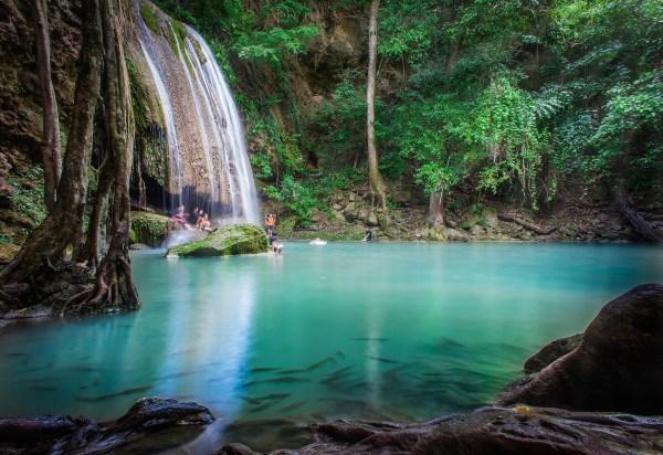 Erawan is één van de populairste nationale parken in Thailand