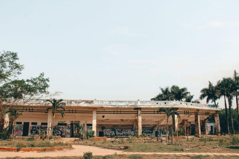 Het waterpark in Hue