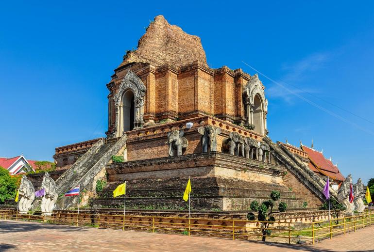 Wat Phra That Chedi Luang, Must sees in Thailand