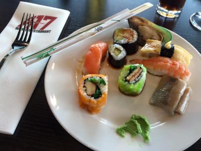 Gerecht - Bord - Sushi