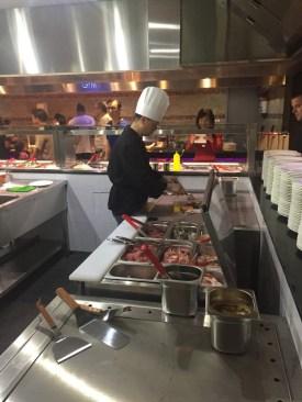 Tepanyaki - Live Cooking