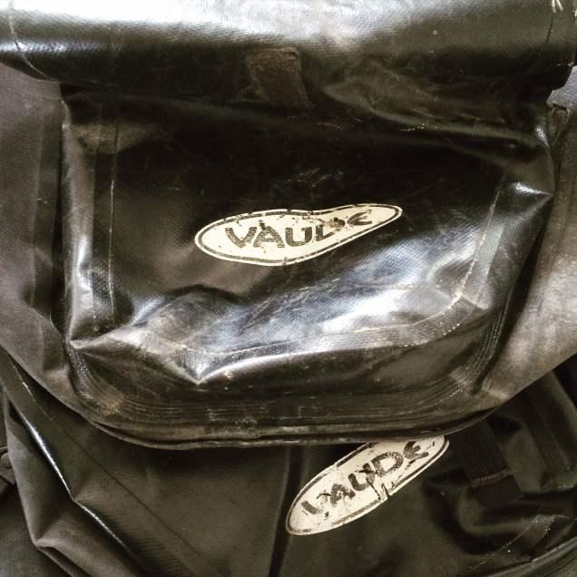 Vaude fietstas zwart