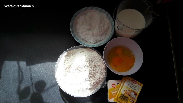Wafels-bakken