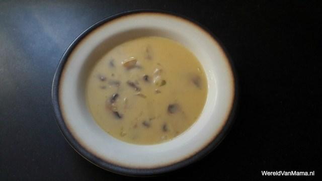soep recepten champignonsoep
