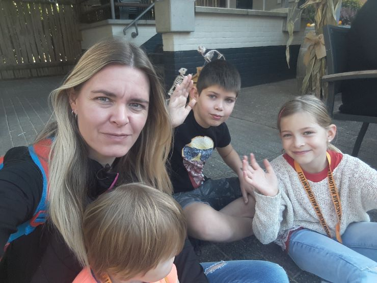 Alleen op vakantie met de kinderen