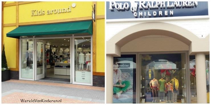Shoppen voor kinderen bij het Outlet Centrum in Roermond