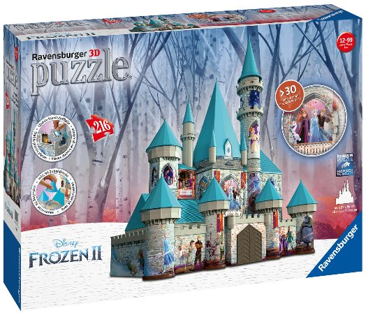 Frozen 3D puzzel