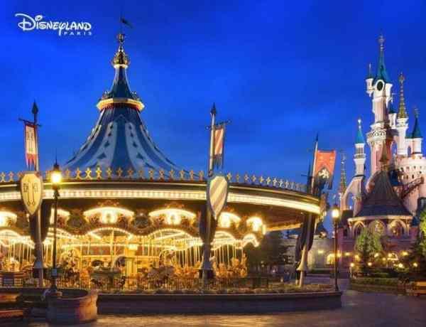 Draaimolen Disneyland Paris