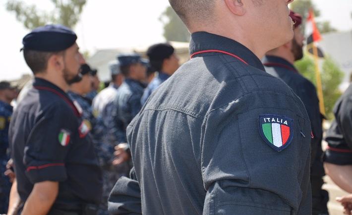 Graduation 19 Carabinieri Course I.F.P 109