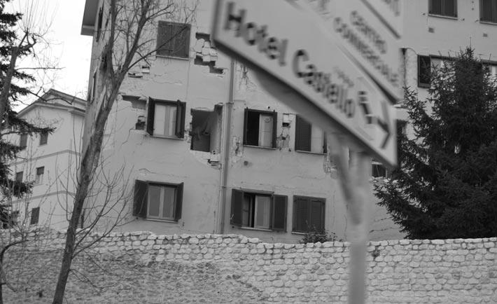 Terremoto in Abruzzo 2009. Foto di Francesca Caiazzo