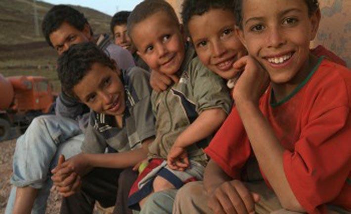 Bambini in Marocco. Foto: Aibi